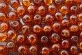Glaskraal-crackle-rond-8mm-bruin