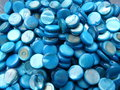 Schelpkraal-rond-10mm-blauw