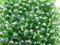 Glas-kristal-rondel-facet-met-mooie-glans-6x4mm-donkergroen