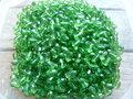 Glas-kristal-ovaal-met-mooie-glans-6-x-4mm-groen