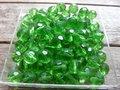Glas-kristal-rond-facet-met-mooie-glans-8mm-groen