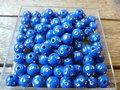 Kunststof-rond-8mm-met-strassteentje-donkerblauw