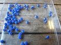Glaskraal-rondel-facet-geslepen-imitatie-jade-donkerblauw