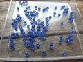 Glaskraal-rondel-facet-geslepen-3x2mm-donkerblauw