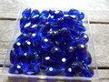Glas-kristal-facet-met-mooie-glans-druppel-11x8mm-donkerblauw